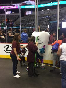 Comfort Dental Visits the Special Olympics Denver Nuggets Basketball Clinic